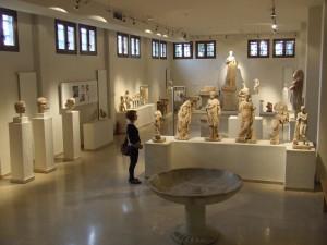Muzeálna časť komplexu Dión