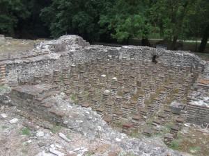 Časť vykopávok, kde sa nachádzalo starobylé mesto