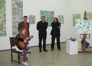 Ivana Vozárová, Pavel Čáni, Michal Ďurovka a Vladimír Valentík (Foto: Svetluša Hlaváčová)