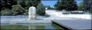 Skulptúra J. Lenassiho vo Viedenskom parku