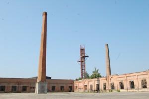 Typické vysoké komíny