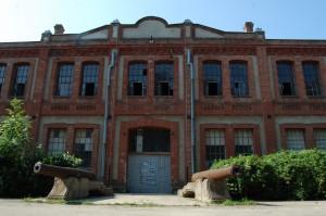 Vchod do hlavnej budovy