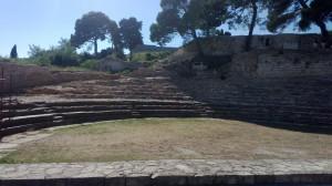 Pozostatky divadla z rímskej doby
