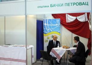 Iné prostredie, iná i ponuka: stánok Obce Báčsky Petrovec