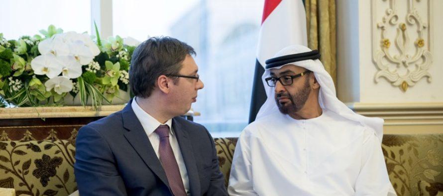 Vučić na návšteve Abu Dhabi