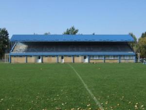 Nová tribúna FK Mladosť v Petrovci