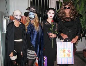 Odmenené masky na Halloween 2013