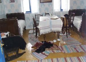 Vykradnutý etno dom