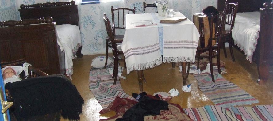 Zlodeji vykradli etno dom
