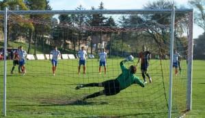 Danilo Kovačević premenil penaltu a vyrovnal na 1 : 1