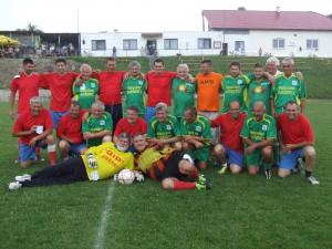 Desaťročie družby mošovských a lalitských futbalových veteránov