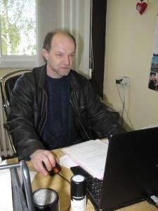Riaditeľ RTV OK Ján Petráš