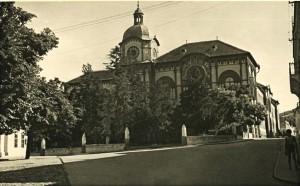 Pohľadnica Sriemskych Karloviec z druhej polovice 20. storočia