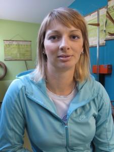 Tatiana Brtková, profesorka telesnej výchovy na Gymnáziu Mihajla Pupina v Kovačici