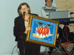 Spolok žien sa potešil obrazu, ktorý im venoval maliar Pavel Povolný-Juhás