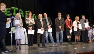 Na slávnostnej akadémii udelili ďakovné listiny ustanovizniam a jednotlivcom, ktorí prispeli k zveľadeniu práce ustanovizne