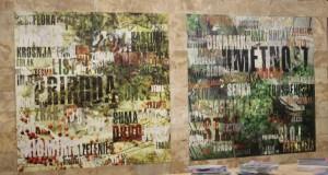 Dve z grafík seriálu Kľúčové slovo – umenie