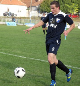 S hráčom menej mohli uhrať remízu: Miroslav Ďuriš (Slávia Kovačica)
