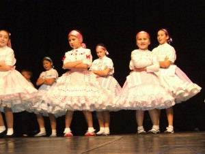 Maličké páčivé tanečnice poriadne zvŕtali svoje sukne