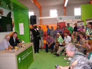 Slovinský minister pri výmene poznatkov a skúseností s členmi Spolku agrárnych novinárov a predstaviteľov vojvodinských poľnohospodárov