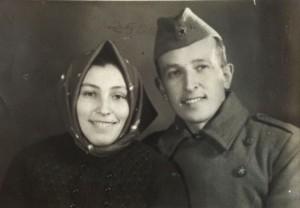 Manželia Krupinskovci roku 1957…