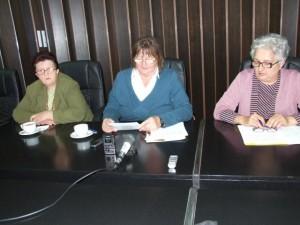 V mene Rady pre rodovú rovnosť (zľava) K. Arňašová, K. Zorňanová a V. Brkljačová apelujú na ženy, aby boli aktívnejšie aj na poli miestnej politiky, lebo majú čo ponúknuť ku kvalite života
