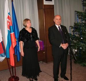 Veľvyslanec Dr. Ján Varšo: výborná spolupráca a vysoké ocenenie aktivít našej komunity