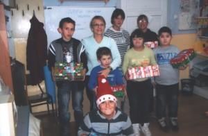Mária Dagmar Mlinarićová so svojimi žiakmi z Janje