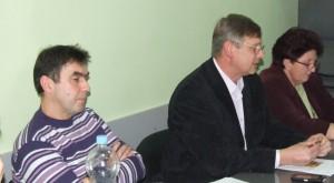 Nové vedenie v Petrovci – vpravo predseda RMS Ján Rybovič a vľavo podpredseda Ján Lačok