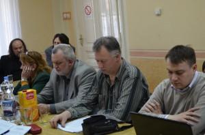 Záber zo 14. zasadnutia NRSNM v Starej Pazove, kde sa hovorilo aj o aktuálnej situácii v slovenských médiách (foto: J. Pániková)