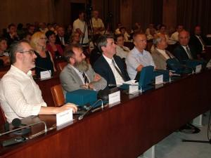 Zo slávnostného zasadnutia NRSNM v Zhromaždení APV v Novom Sade (foto: O. Filip)