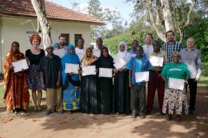 Pracovníci Trnavskej univerzity s komunitnými zdravotníckymi pracovníkmi