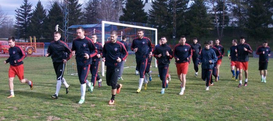 FK DOLINA začala prípravy na jarnú časť Prvej ligy Srbska s jediným cieľom: Vybojovať záchranu!
