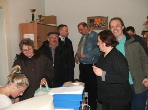 Podpisovanie dvoch petícií v Miestnom spoločenstve Kysáč