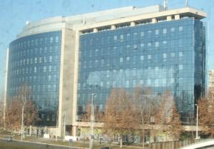 Sídlo Delegácie EÚ v Srbsku, v Novom Belehrade