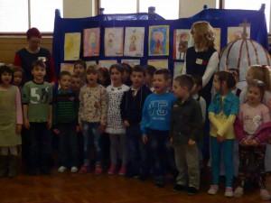 Oslava Svätého Savu v pazovskej škôlke (foto: A. Lešťanová)