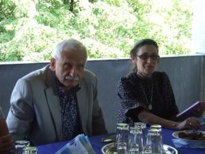 Ileana Ursuová (sprava) a Víťazoslav Hronec