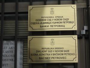 Iba spomienka na súd v Petrovci? (foto: J. Čiep)