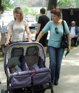 V Hložanoch Gostovićovcom vlani pribudlo tretie a štvrté bábätko (foto: J. Bartoš)