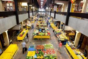 Vedenie Nového Mesta vidí v priestore tržnice nevyužitý potenciál. (Foto: Gabriel Kuchta)