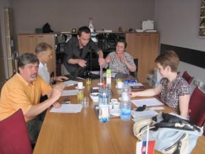 Záber zo zasadnutia Výboru pre informovanie z roku 2012 (foto: A. Chalupová)