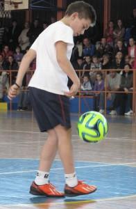 Potlesk obecenstva si právom zaslúžil Lazar Mitrović, budúca futbalová hviezda z Bavaništa