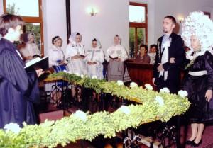 Svadba v Šíde v roku 2002 – posledná podľa starých obyčají