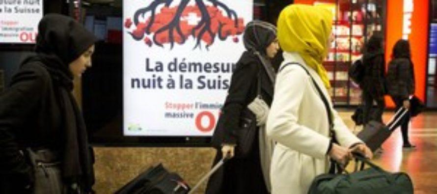 Švajčiari odhlasovali stop prisťahovalcom