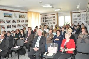 Časť účinkujúcich na tohtoročnej medzinárodnej konferencii v Nadlaku