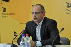 Marko Blagojević, výkonný riaditeľ CESID-u (foto: www.mc.rs)