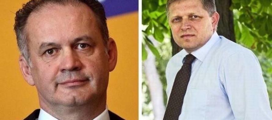 SLOVENSKO: Do druhého kola prezidentských volieb postupujú Fico a Kiska