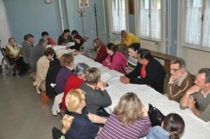 Ticho a smutná nálada členov Petrovskej družiny na výročnom zasadnutí