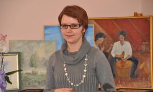 Viera Dorčová-Babiaková a darované obrazy pre Maticu