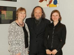 Posudzovacia komisia: (zľava) Zuzana Tárnociová, Vladimír Valentík a Zuzana Týrová